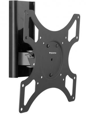 "Кронштейн kromax TITAN-7 Черный LCD/LED 15-40"" настенный 2 степени свободы  VESA 50/75/100/200*100/200 max 25 кг"