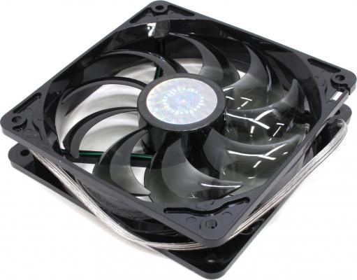 Вентилятор Cooler Master R4-L2R-20AG-R2 120mm 2000rpm зеленая подсветка вентилятор cooler master 120mm ncr 12k1 gp