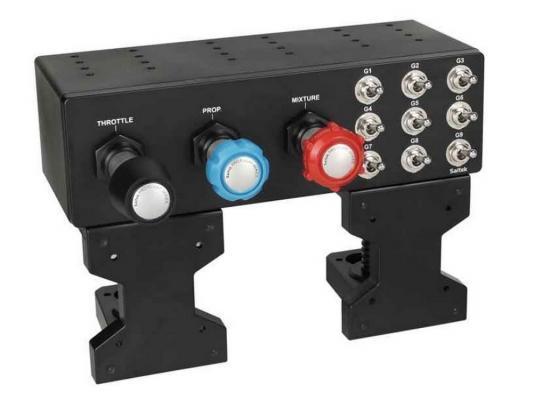 Панель для джойстика Saitek Pro Flight TPM System SCB432060002/04/1