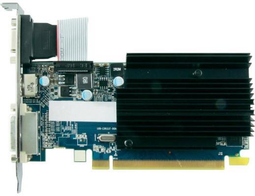Видеокарта 1024 Sapphire HD6450 PCI-E 16x 2.1 D-Sub OEM pci e 1x male to pci e 16x female adapter cable 20cm