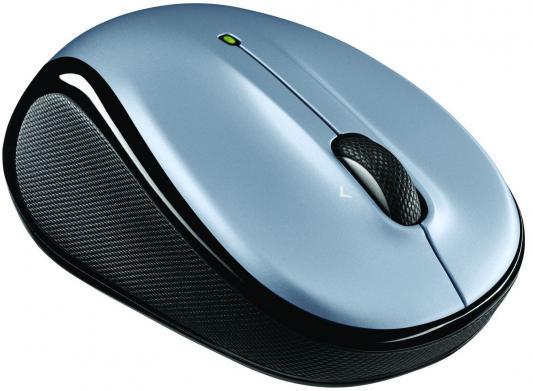Мышь беспроводная Logitech M325 серебристый чёрный USB 910-002335/910-002334