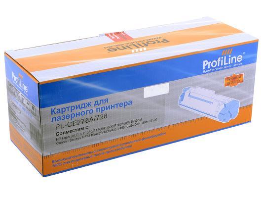 Купить Картридж Profiline CE278A для HP LJ P1566 1606DN и Canon i-Sensys MF4410 MF4430 MF4450 MF4550d MF4570d