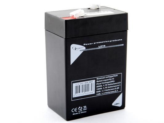 Батарея Gembird 6V4.5AH BAT-6V4.5AH