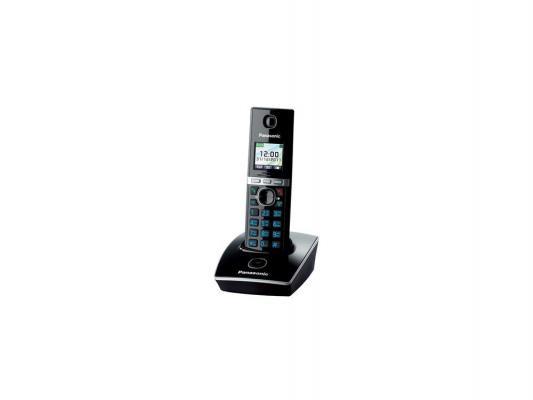 Радиотелефон DECT Panasonic KX-TG8051RUB черный радиотелефон panasonic kx prx120ruw черный