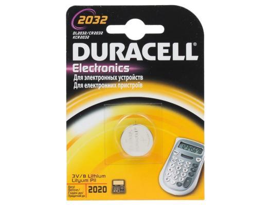Батарейка Duracell Litium CR2032 1 шт батарейка duracell mn21 a23 1 шт