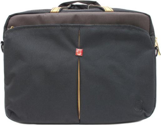 Сумка для ноутбука 10 Continent CC-010 Caviar Black нейлон сумка для ноутбука 15 continent cc 101 black нейлон