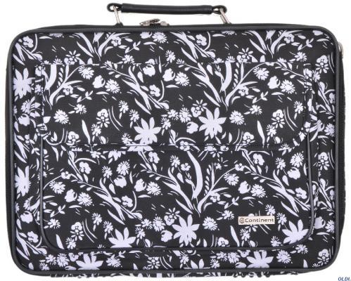 Сумка для ноутбука 15-16 Continent CC-03 White Flowers нейлон сумка для ноутбука continent cc 075 violet нейлон до 16