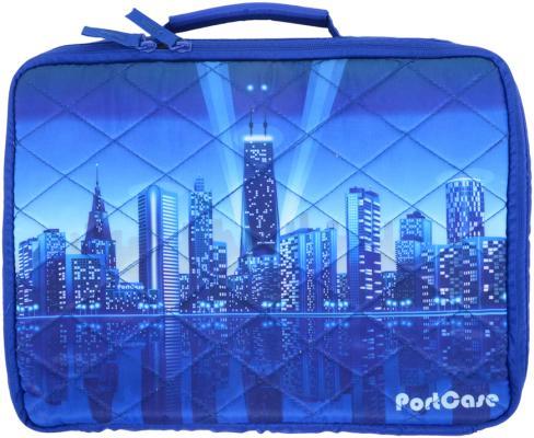 """Сумка для ноутбука 10"""" Portcase KCB-10 City Blue"""