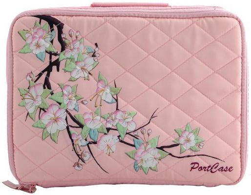 Сумка для ноутбука 10 Portcase KCB-10 Sakura розовый с рисунком