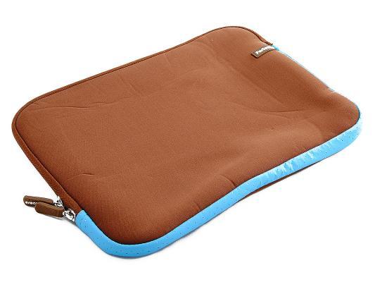 """Чехол для ноутбука 12"""" PORTCASE KNP-12 BR коричневый"""