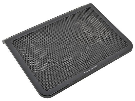 """Подставка для ноутбука до 15"""" Cooler Master NotePal L1 R9-NBC-NPL1-GP пластик/сталь 1100-1500об/мин 21db черный"""