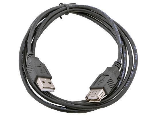 Кабель удлинительный USB 2.0 AM-AF 1.8м Gembird CC-USB2-AMAF-6B черный цена