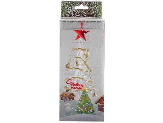 Гаджет ORIENT 303N Новогодняя елочка с колокольчиками 7 цветов с музыкой