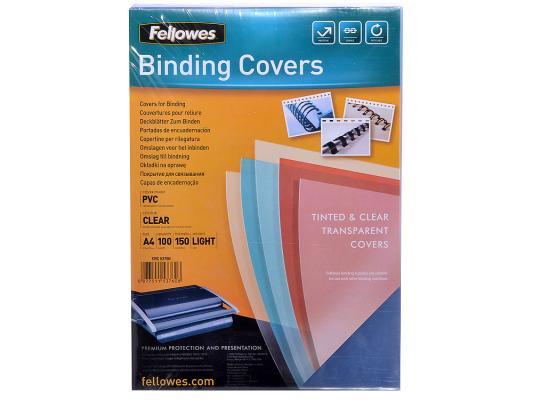 Обложка Fellowes Transparent A4 150 мкм прозрачный 100 шт FS-53760