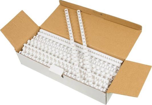 Пружина пластиковая Fellowes FS-53458 10мм белый 100шт