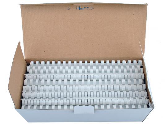 Пружина пластиковая FS-53466 14мм белая 100 шт CRC-53466