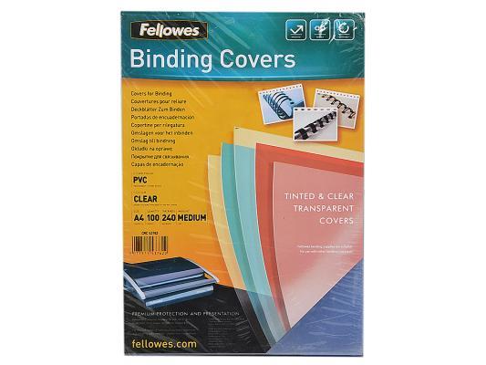 Обложка Fellowes Transparent A4 0.24мм прозрачный 100 шт FS-53762