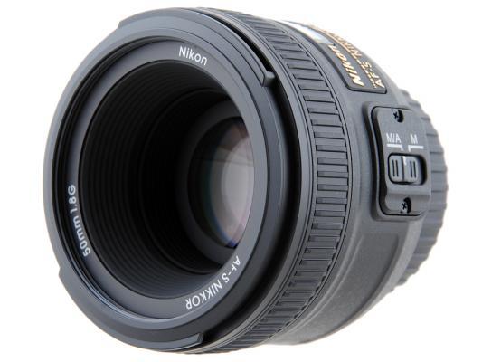 Объектив Nikon 50mm f/1.8G AF-S Nikkor JAA015DA nikon af s nikkor 50mm f 1 4g