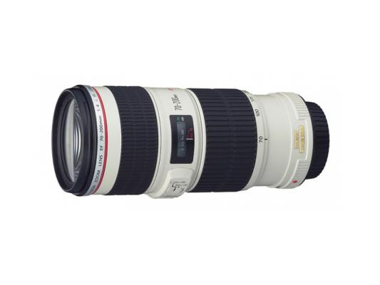Объектив Canon EF 70-200mm 4.0L USM 1258B005 объектив canon ef 24mm f 2 8 is usm черный
