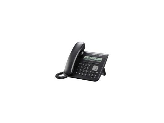 Телефон IP Panasonic KX-UT123RU-B SIP 2xLAN LCD