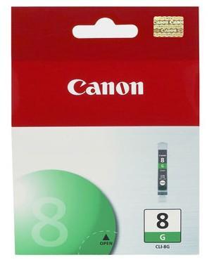 Струйный картридж Canon CLI-8G зеленый для Pro 9000 картридж canon cli 42lgy для pro 100 серый 835 фотографий