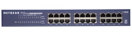 Коммутатор NETGEAR JGS524-200EUS неуправляемый 24 порта 10/100/1000Mbps