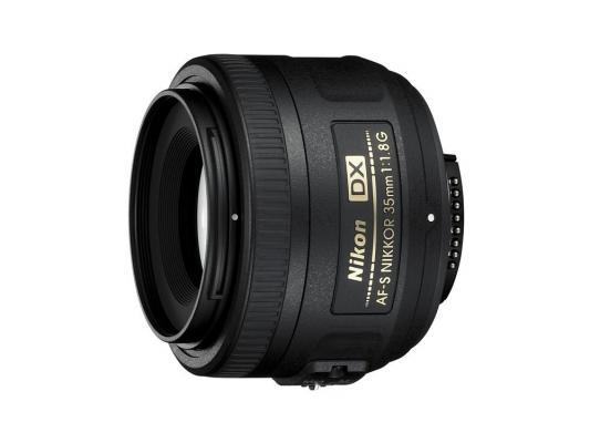 Объектив Nikon 35mm f/1.8G AF-S DX Nikkor JAA132DA nikon af s dx nikkor 35mm f 1 8g