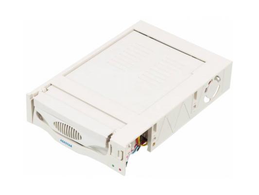 "Салазки для жесткого диска (mobile rack) для HDD 3.5"" AGESTAR SR3P(SW)-1F SATA бежевый"