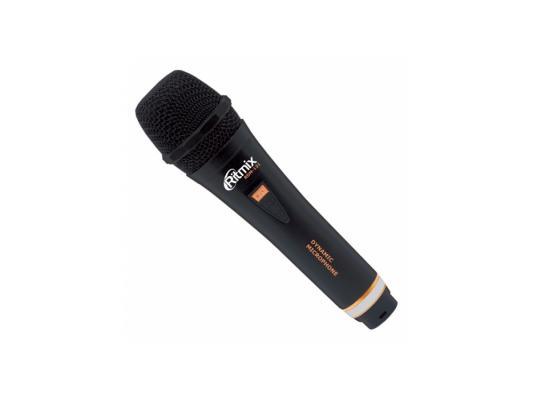 Микрофон Ritmix RDM-131 черный 3м