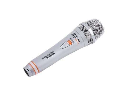 Микрофон Ritmix RDM-131 3м серебристый видеорегистратор ritmix avr 424