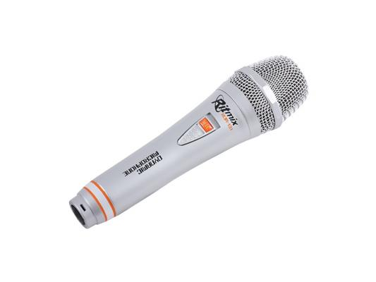 Микрофон Ritmix RDM-131 3м серебристый