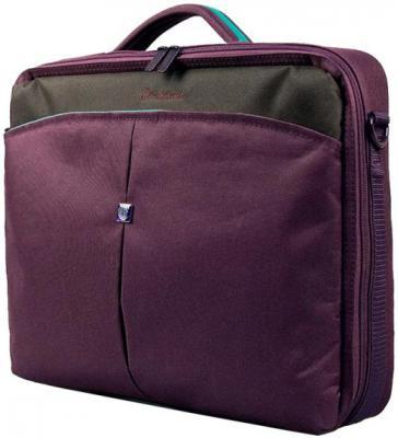 Сумка для ноутбука 15 Continent C-02 Burgundy полиэстер пурпурный