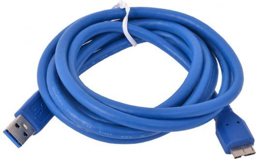 Кабель microUSB 1.8м Gembird круглый CCP-mUSB3-AMBM-6 кабель usb gembird 3 0 ccp musb3 ambm 10 3м ccp musb3 ambm 10
