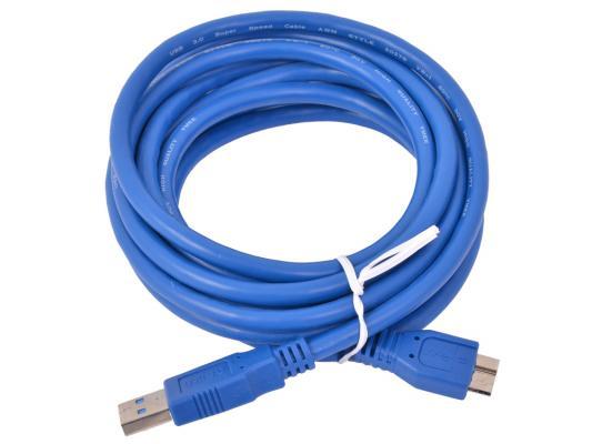 Кабель USB 3.0 AM-microBM 3.0м 9pin Gembird CCP-mUSB3-AMBM-10 кабель usb 2 0 am microbm 1м gembird золотистый металлик cc musbgd1m