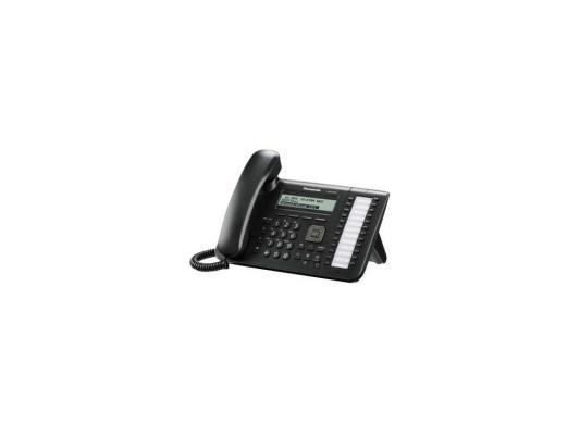 Телефон IP Panasonic KX-UT133RU-B SIP 2xLAN LCD 24 кнопки