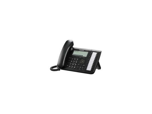 Телефон IP Panasonic KX-UT136RU-B SIP 2xLAN LCD 24 кнопки