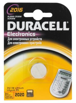 Батарейка Duracell Electronics CR2016 1 шт