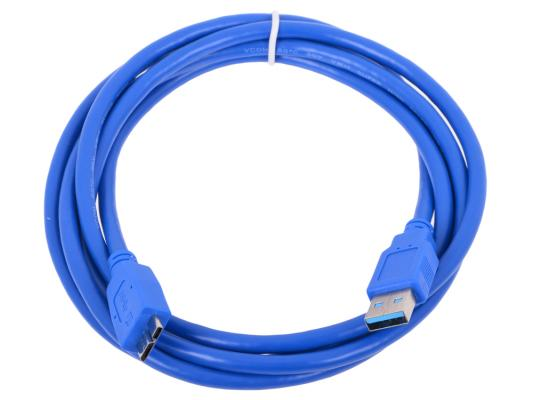 Кабель USB 3.0 AM-microBM 1.8м 9pin VCOM Telecom VUS7075-1.8M
