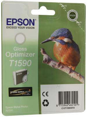 Картридж Epson C13T15904010 Optimizer T1590 C13T15904010 для Epson Stylus Photo R2000 Gloss глянцевый картридж epson t009402 для epson st photo 900 1270 1290 color 2 pack