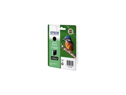 Купить Картридж Epson C13T15914010 для Stylus Photo R2000 Black черный