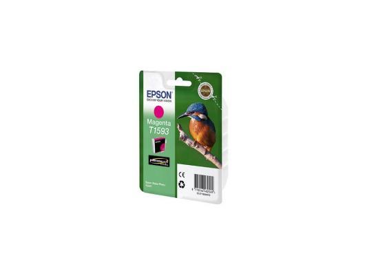 Картридж Epson C13T15934010 для Epson Stylus Photo R2000 пурпурный картридж epson t0964 yellow для stylus photo r2880 c13t09644010