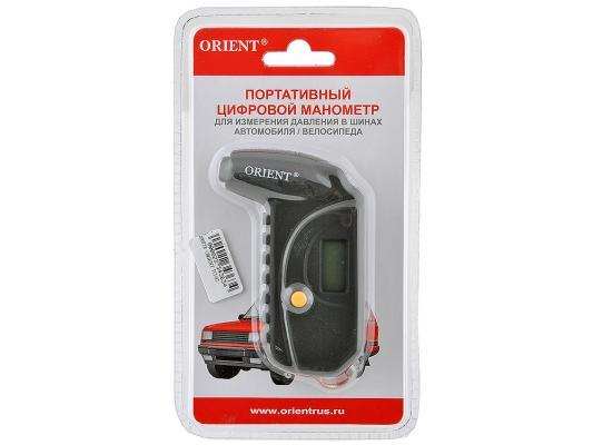 Манометр ORIENT TG-02 портативный цифровой питание от батареек orient et0p001w