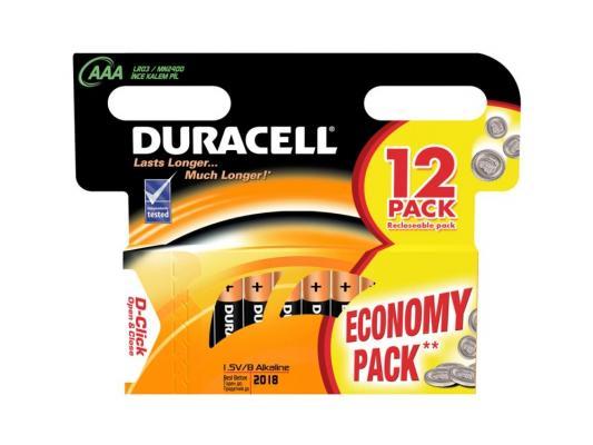 все цены на Батарейки Duracell Turbo max LR03-12BL AAA 12 шт онлайн