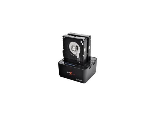 """все цены на Док станция для HDD 2.5""""/3.5"""" SATA Thermaltake BlacX Duet 5G ST0022E USB3.0 черный"""