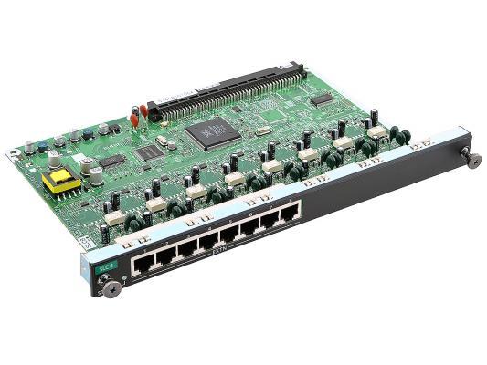 Плата дополнительных линий Panasonic KX-NCP1173XJ 8 внутренних аналоговых линий атс panasonic kx teb308ru аналоговая 3 внешних и 8 внутренних линий нерасширяемая