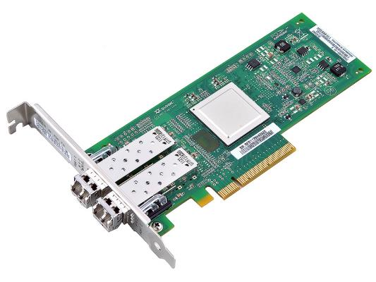 Контроллер PCI-E 8x Qlogic QLE2562-CK Fibre Channel Retail цена