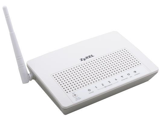 Маршрутизатор VDSL беспроводной Zyxel P-870HW-51A V2 с точкой доступа и Ethernet-коммутатором