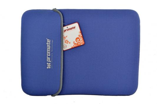 """Сумка для ноутбука 15"""" Promate ProSleeveR.15BU синий"""