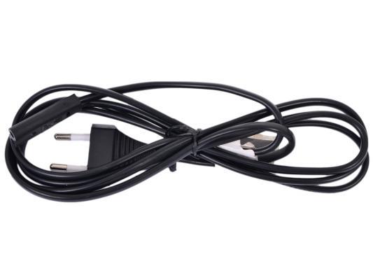 Кабель питания для ноутбуков аудио/видео техники 2pin 0.5м 2.5А Gembird PC-184-VDE-0.5М