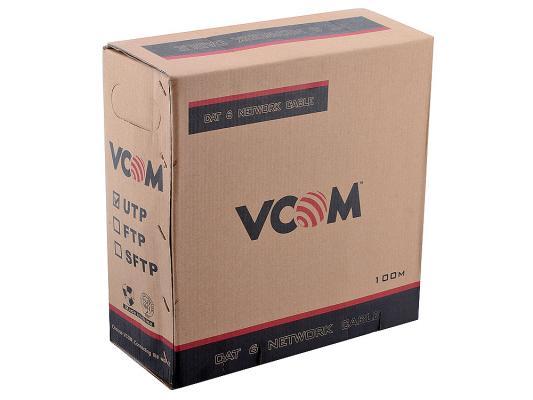 Кабель VCOM UTP VNC1020 4 пары кат 6 100м